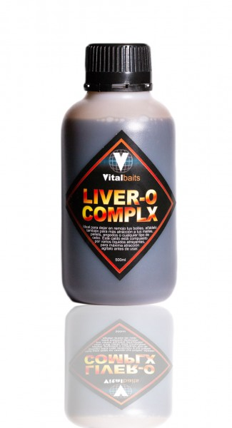 Vitalbaits Liquid Liver-O Complx Spicy 500ml