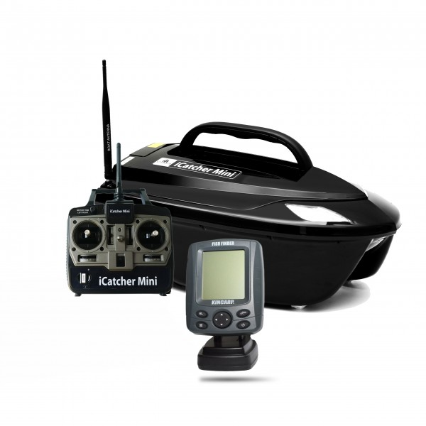 BearCreeks iCacther Mini 2.4 with Lead Battery and Echo Sounder VF01
