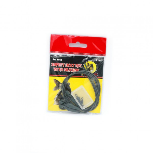 Extra CARP Safety Bolt Rig with Silicone