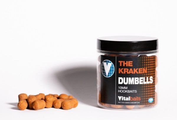 Vitalbaits HOOKBAITS DUMBELLS The Kraken 10mm
